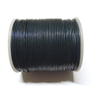 Leather String 1.5 mm - Petrol Blue 107