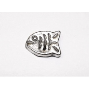 Metal Fish 12x9mm