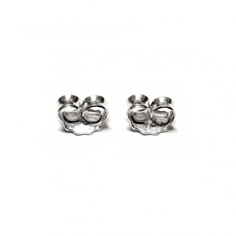 Silver Small Earring Clutch
