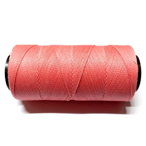 Polyester Brazilian Waxed 1mm - Pink 0237
