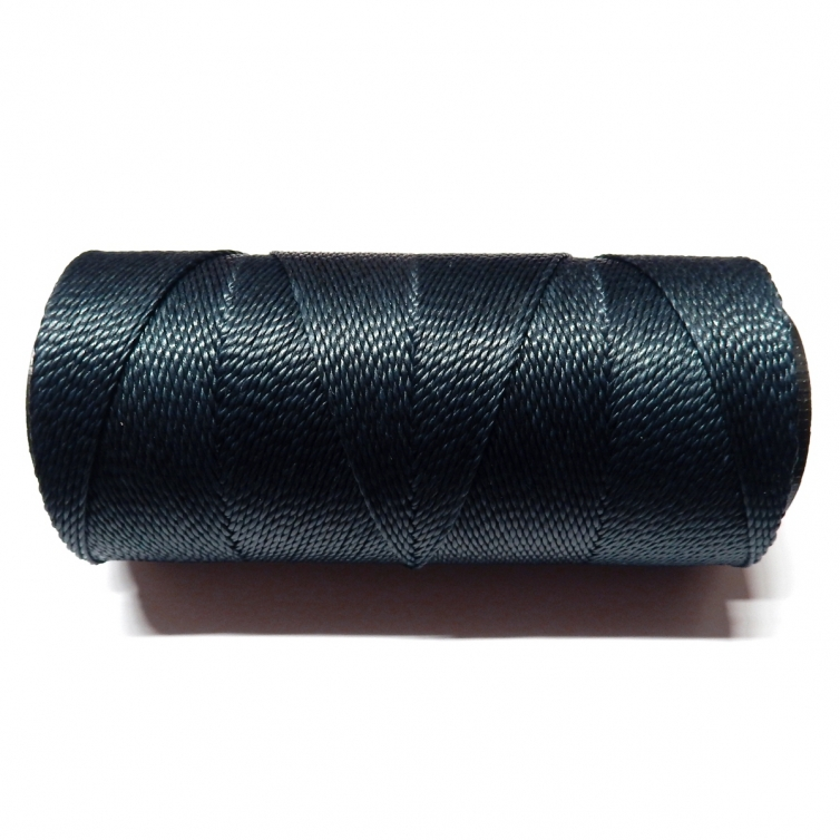 Polyester Brazilian Waxed 1mm - Navy Blue 0021