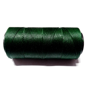 Polyester Brazilian Waxed 1mm - Dark Green 0056