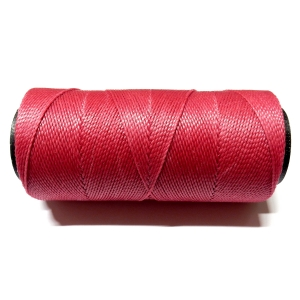 Polyester Brazilian Waxed 1mm - Dark Pink 0773