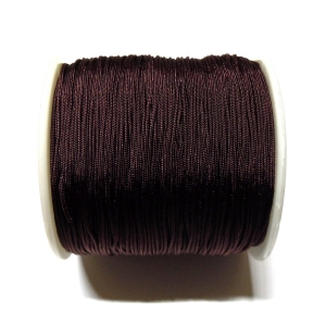 Nylon Cord 0.7mm - Dark Brown 738