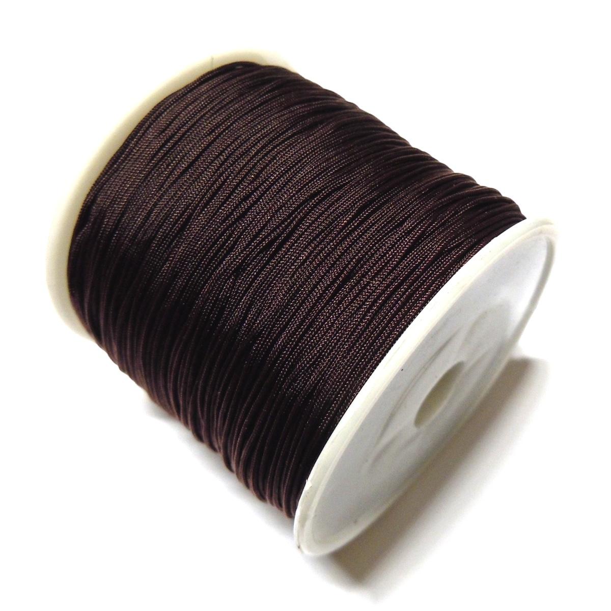 Nylon Cord 0 7mm Dark Brown 738 Sara