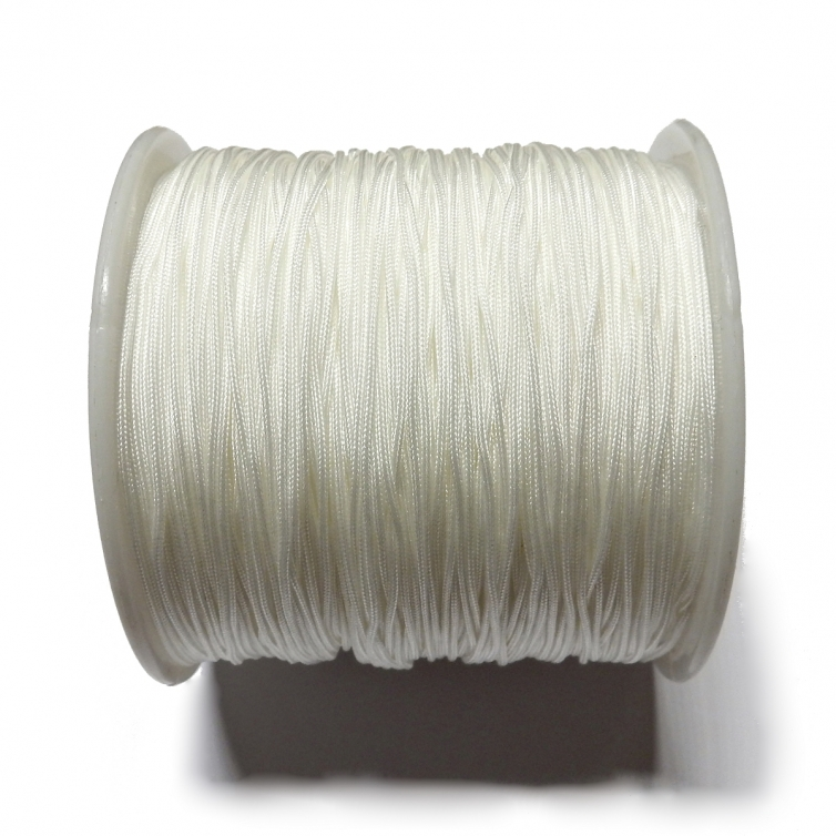 Cordon De Nylon 0.7mm - Blanco 800