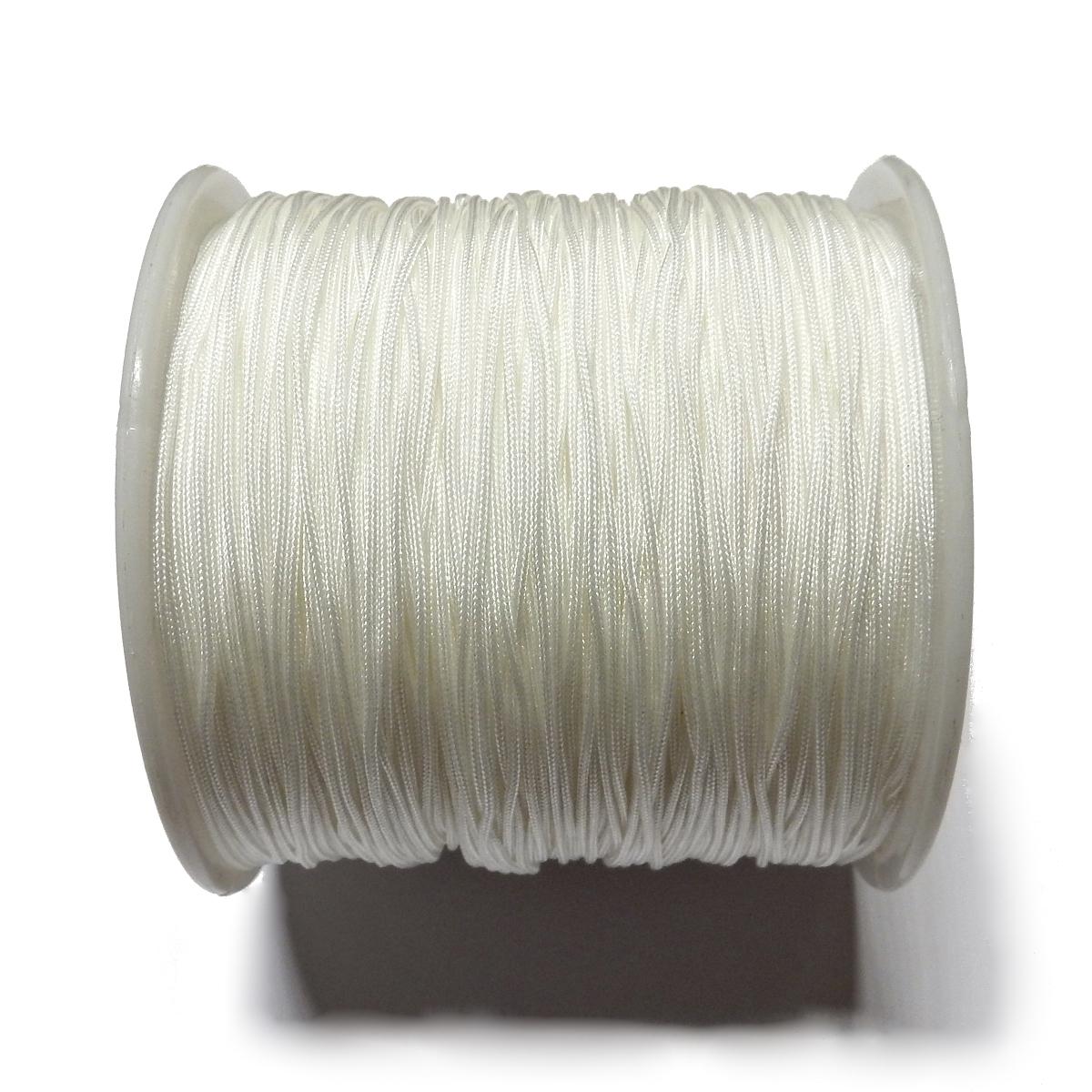 Nylon Cord 0.7mm - White 800