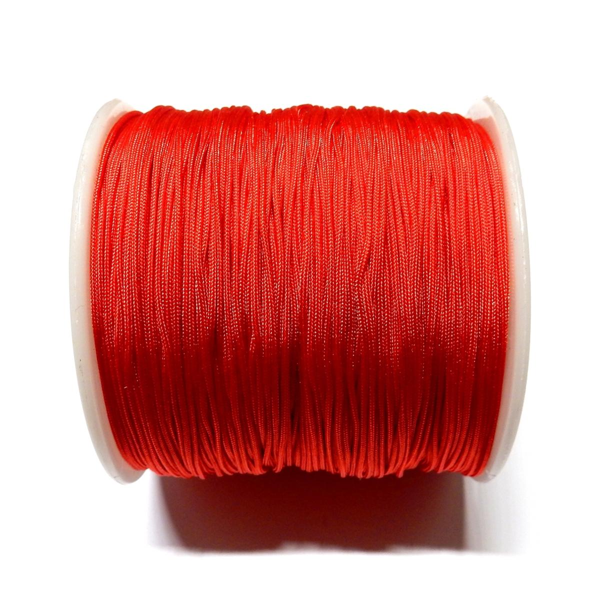 Cordon De Nylon 0.7mm - Rojo 700