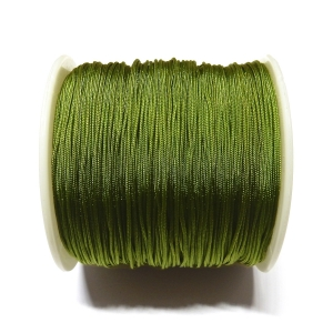 Cordon De Nylon 0.7mm - Verde Oliva 214