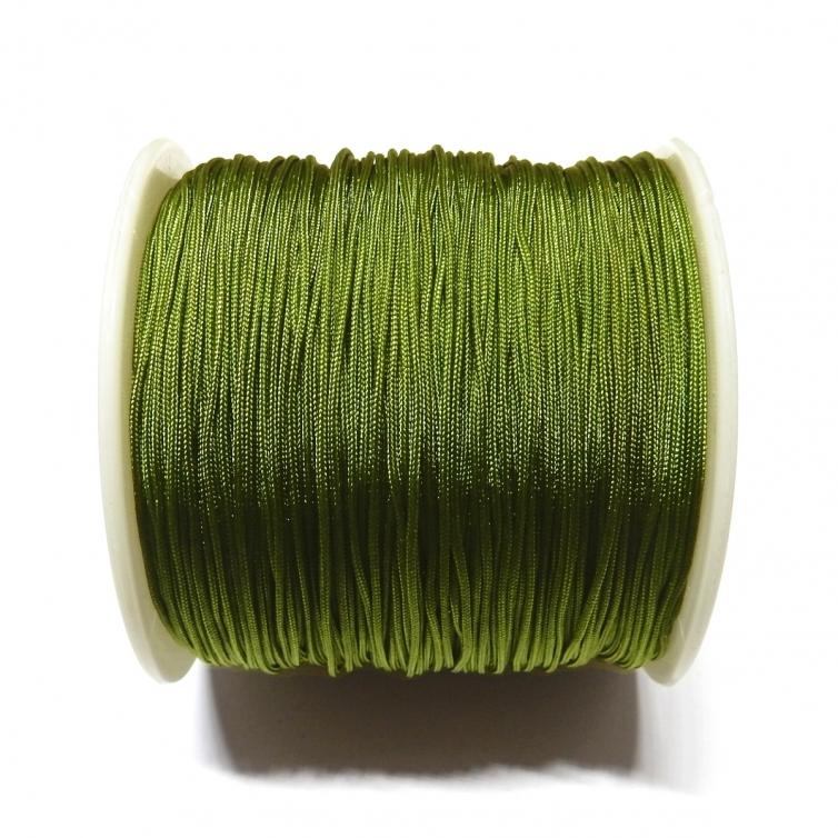 Cordon De Nylon 0.7mm - Verde Oliva 214