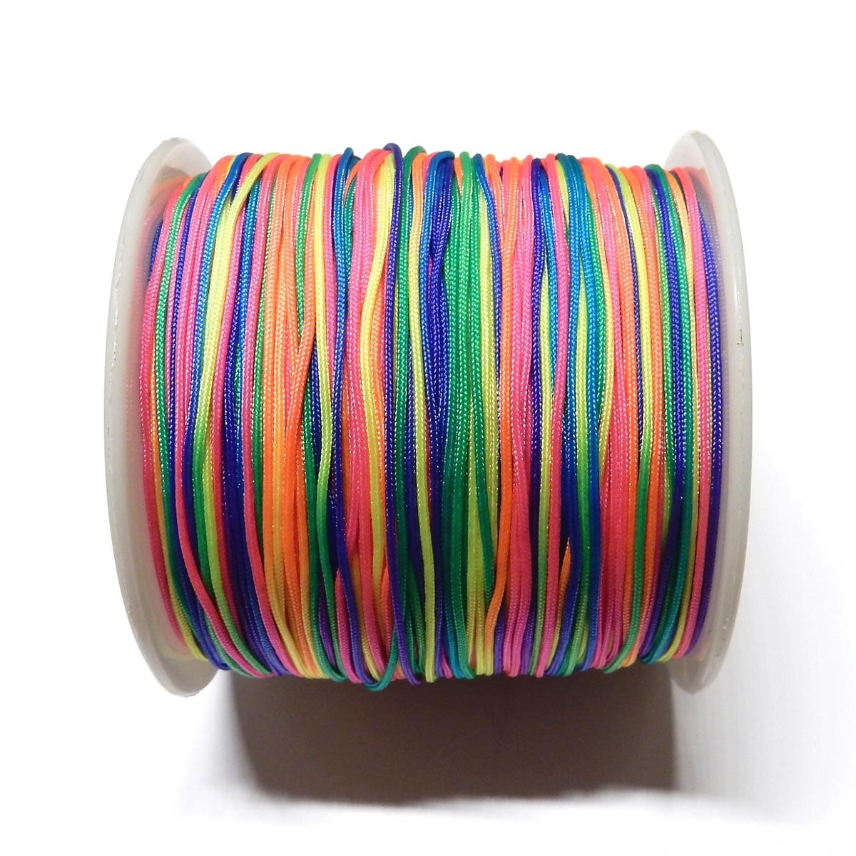 Nylon Cord 0.7mm - Multicolour 10