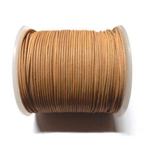 Leather String 1.5mm - Natural 101