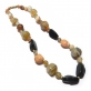 Agates Necklace 49Cm