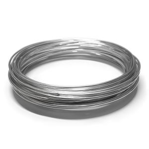 Hilo Aluminio 1.5mm - Plateado