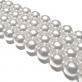 Round Glass Pearls 12mm - Light Grey Colour