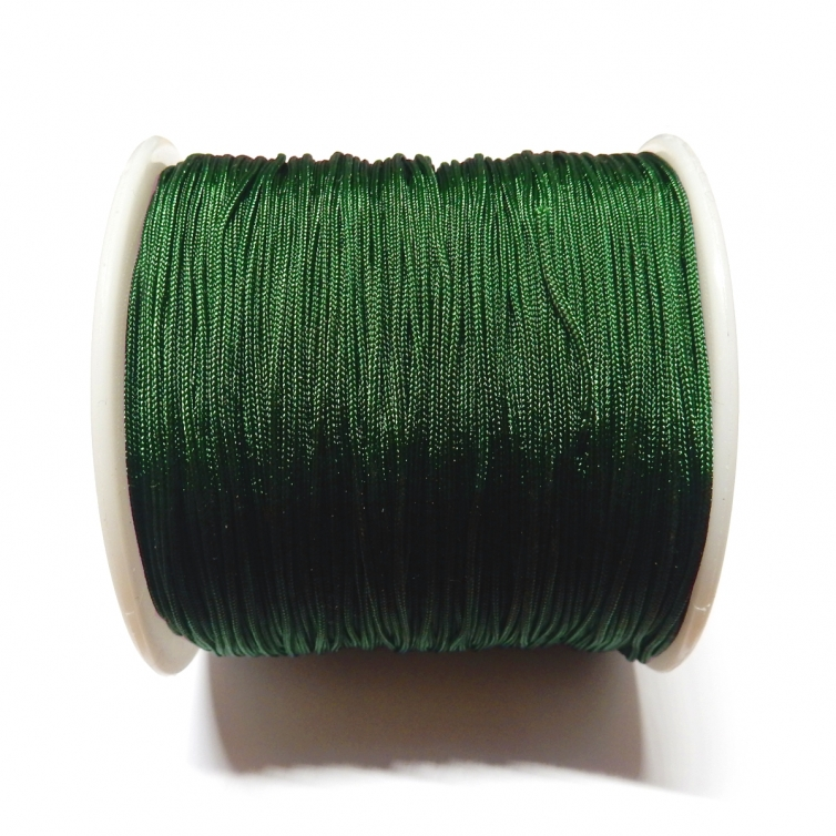 Cordon De Nylon 0.7mm - Verde Oscuro 257