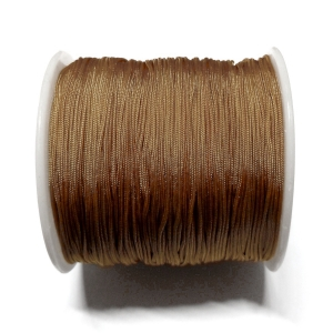 Cordon De Nylon 0.7mm - Marron 63