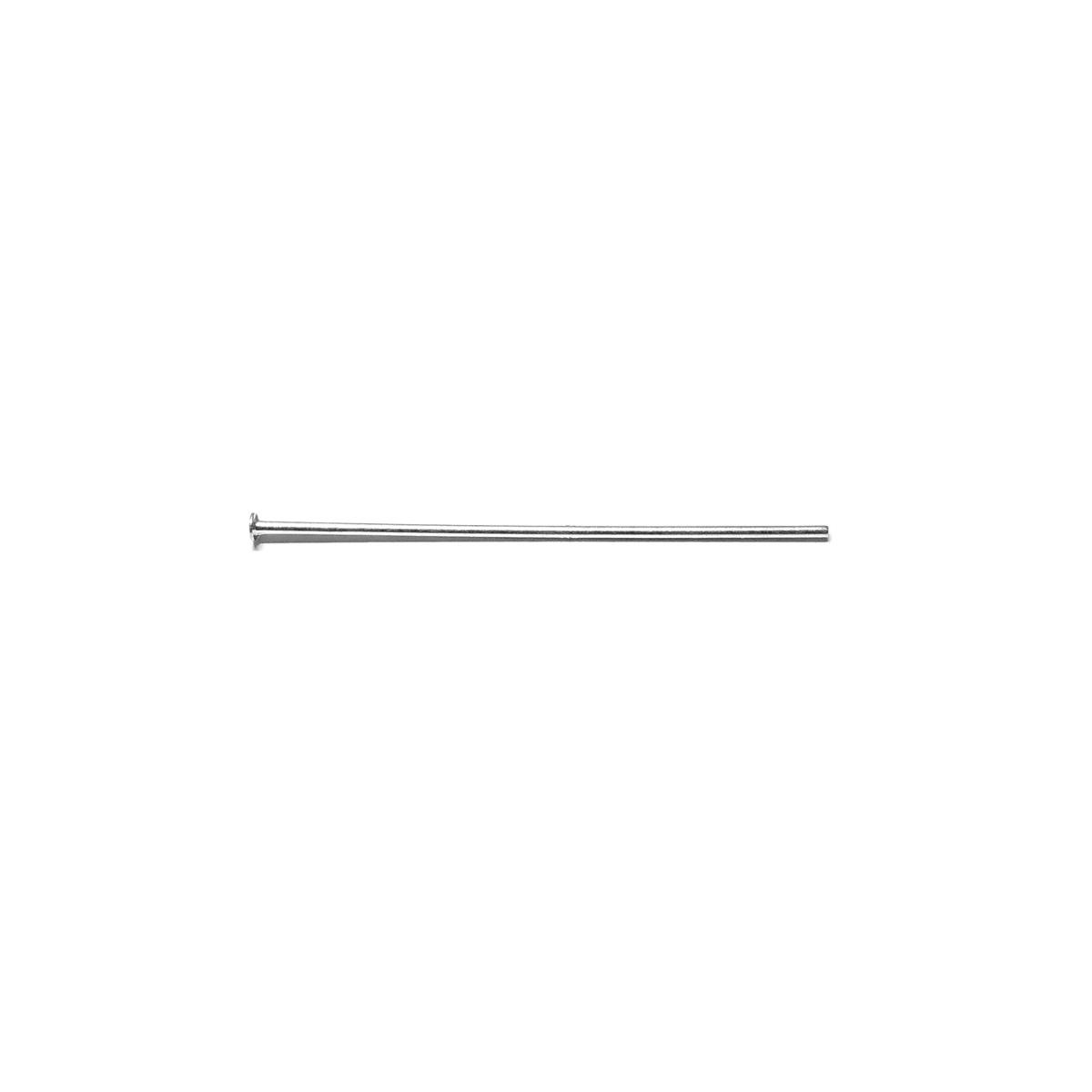 Silver Head Pin 3Cm