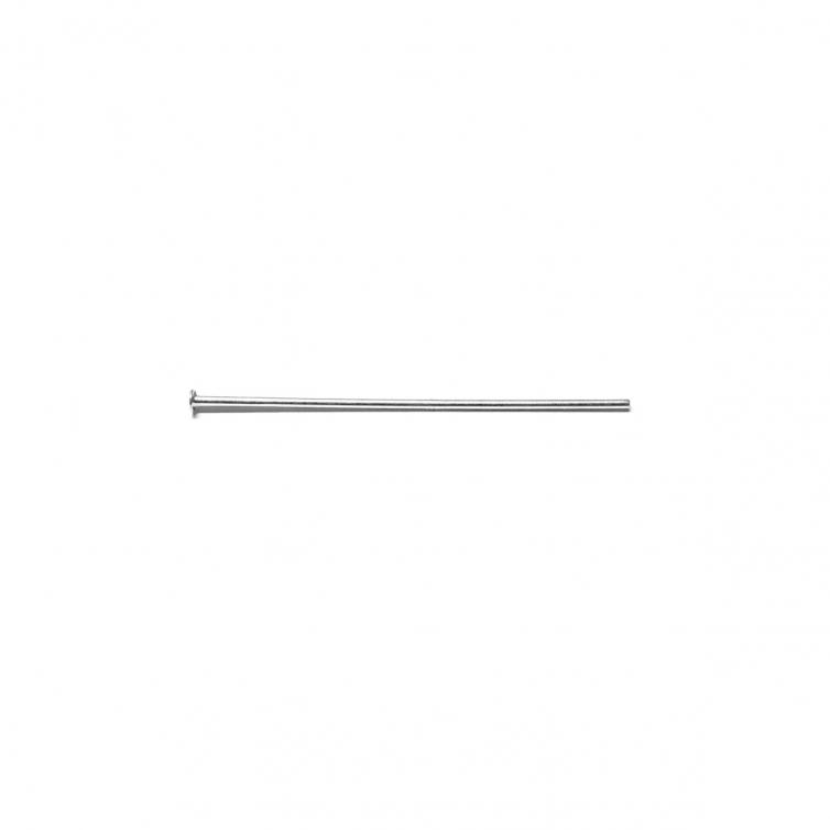 Silver Head Pin 4Cm