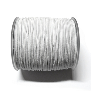 Cordon Goma Elastica 1.2mm - Blanco