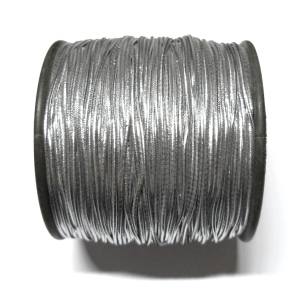Elastic Rubber Cord 1.2mm - Silver