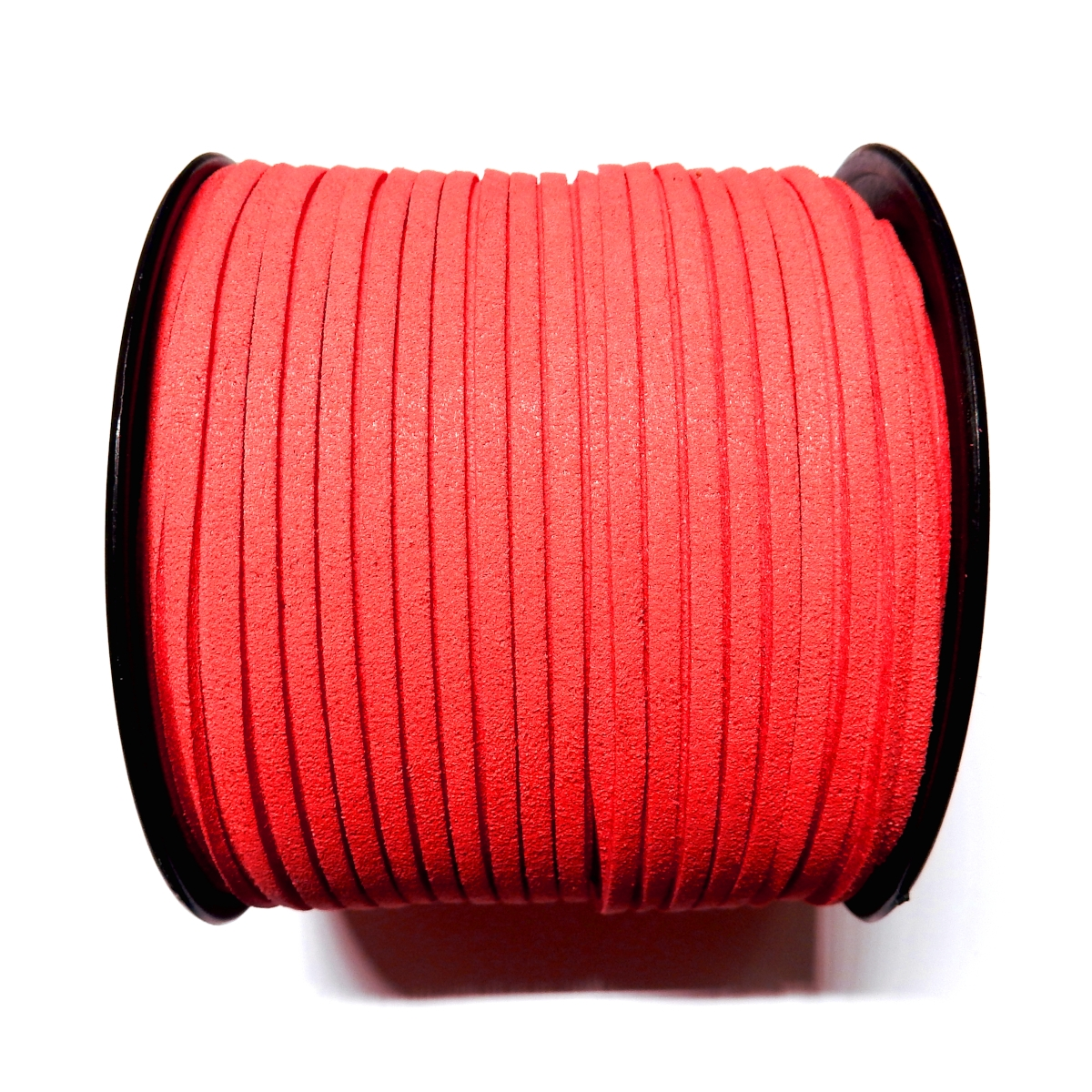 Imitation Flat Suede Cord 3mm - Coral 52