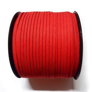 Antelina Plana 3mm - Rojo 68
