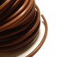 Leather Cord 5.5mm - Medium Brown