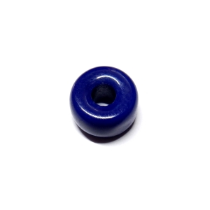 Glass Donut 11x6mm - Opaque Dark Blue