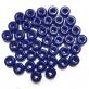 Glass Donut 11x6mm - Opaque Dark Blue