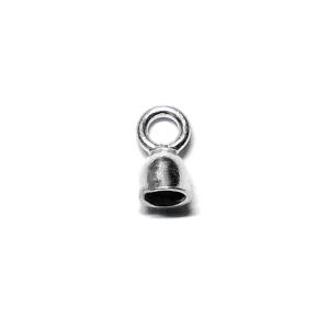 Capuchon Para Cordon 1mm Plata