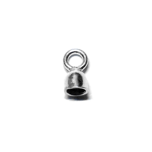 Silver Cap For 1mm Cord