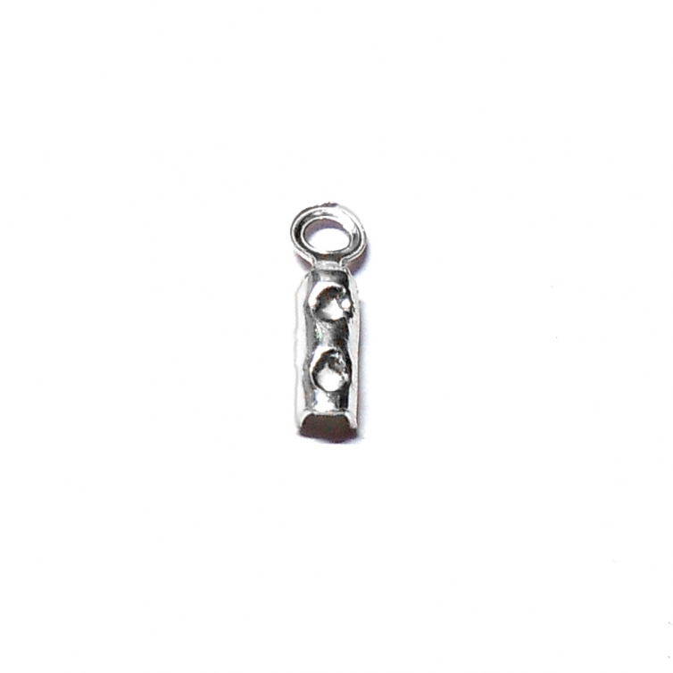 Silver 1.5mm Open Necklace Fitting