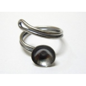 10mm Concave Ring Base With Spiral Ring