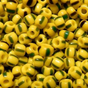 Rocalla nº 4 - Tricolor - Amarillo/Verde/Gris Opaco