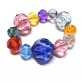 Plastic Faceted Bead Mix