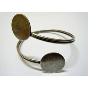 Spiral Bracelet Base 2x22mm