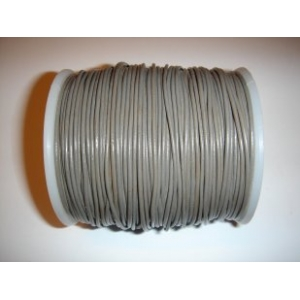Leather String 1.5mm - Grey 134