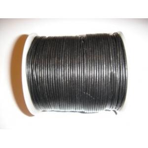 Cordon Cuero 1.5mm - Negro 102