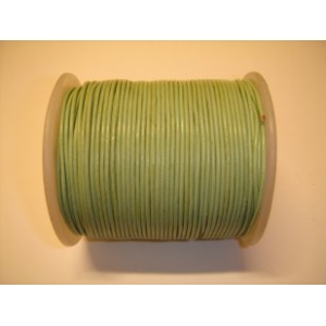 Leather String 1.5mm - Light Green 130