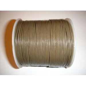 Leather String 1.5mm - Khaki Green 137