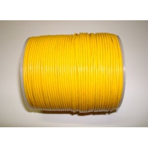 Leather String 1.5mm - Yellow 122