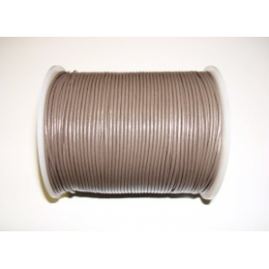 Leather String 1.5mm - Dark Grey 135