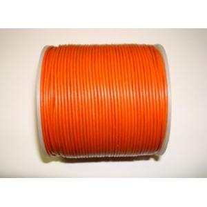 Cordon Cuero 1.5mm - Naranja 120