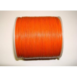 Leather String 1.5mm - Orange 120