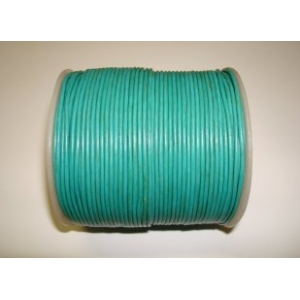 Leather String 1.5mm - Turquoise 117