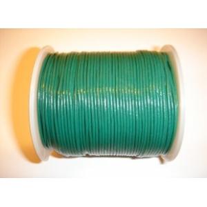 Cordon Cuero 1.5mm - Verde Oscuro 140