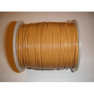 Leather String 1.5mm - Mustard Brown 121