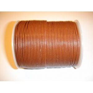 Leather String 1.5mm - Medium Brown 112