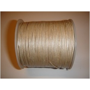 Leather String 1.5mm - Silver 141